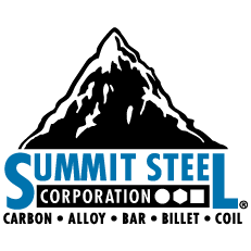 Summit Steel – Premier American Distributor of SBQ, Carbon and Alloy Steel Bar Stock Since 1985 Logo